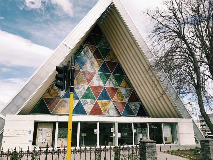 クライストチャーチの紙の教会
