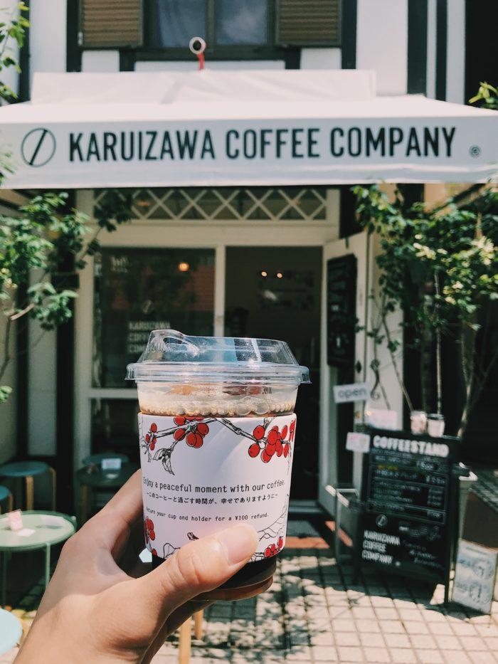 旧軽井沢銀座の軽井沢ロースタリーコーヒー