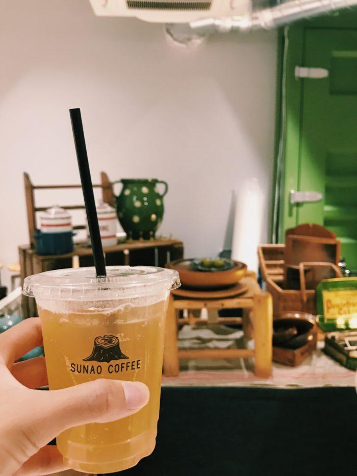 SUNAO COFFEEのジンジャーエール